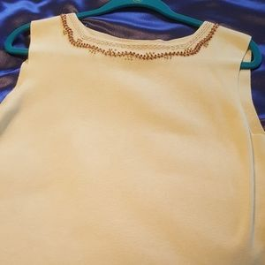 Women's Cold water Creek sleeveless knit top Large